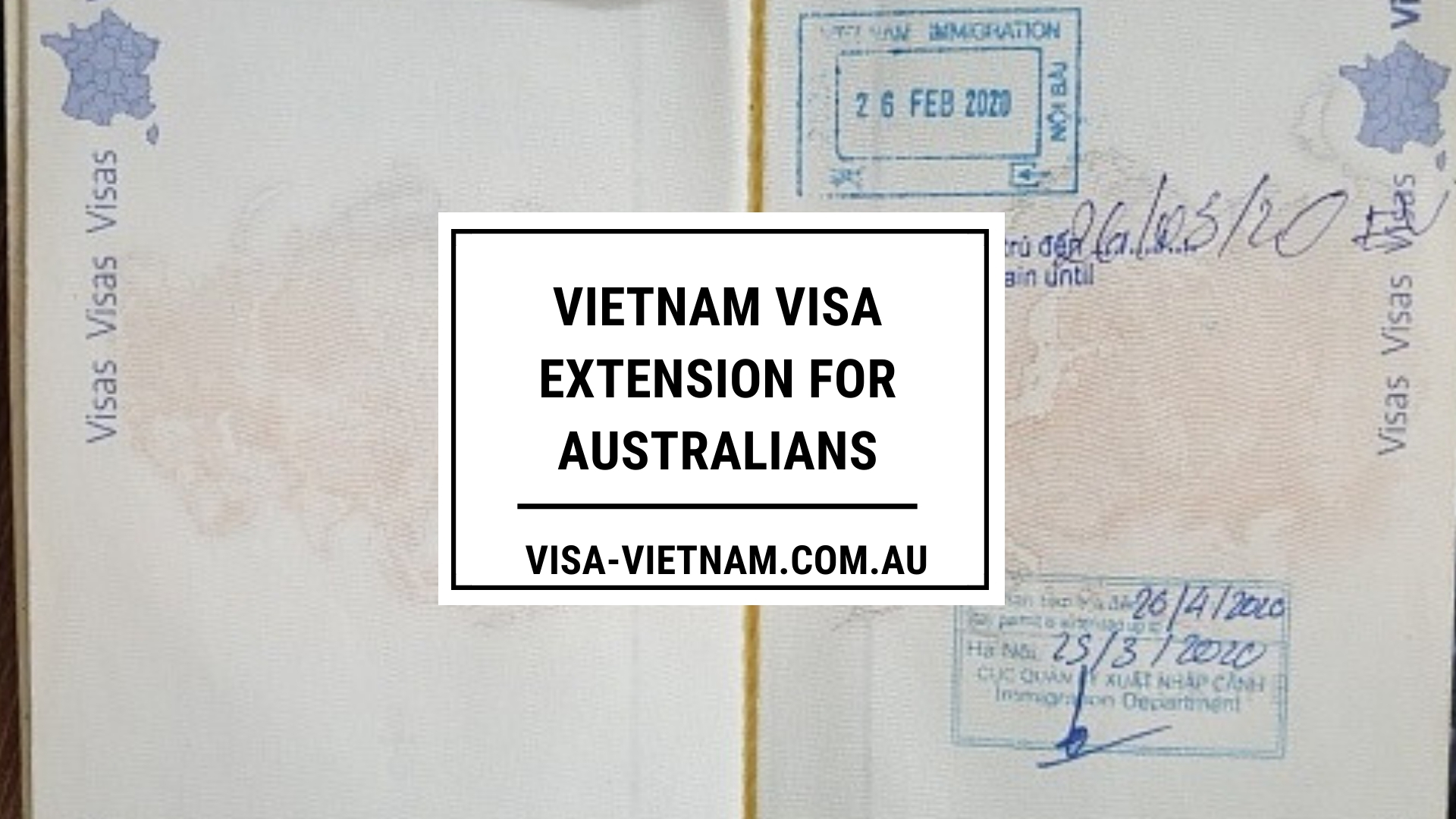 Vietnam visa extension for Australians